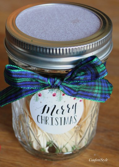 DIY Mason Jar Matches by ConfettiStyle