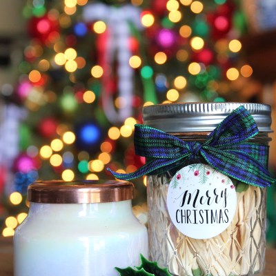 DIY Holiday Gift Idea:  Mason Jar Matches
