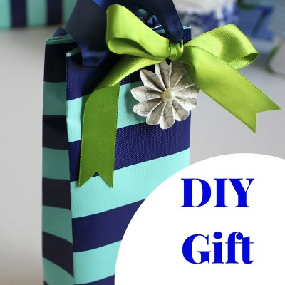Gift Wrap Inspiration: DIY Paper Gift Bags Using Wrapping Paper