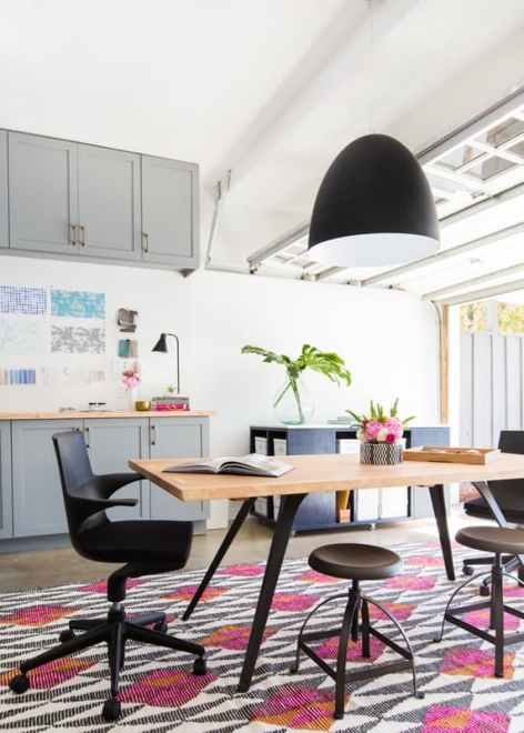 Garage to Office Makeover-- DIY Transformations
