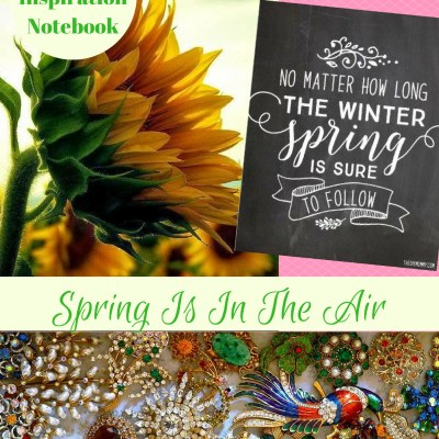 Inspiration Notebook–March 2017
