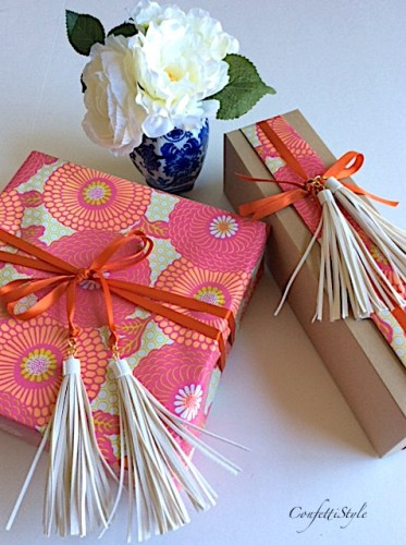 Mother's Day Gift Wrap by ConfettiStyle