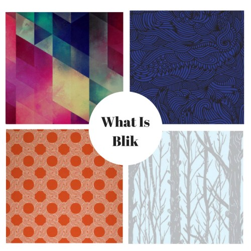 Removable Wallpaper from What Is Blik
