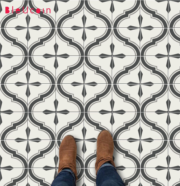 Vinyl Tiles Actually Use Own Home Confettistyle
