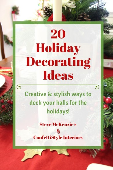 Holiday Decorating Workshops with ConfettiStyle Interiors