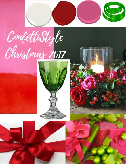 ConfettiStyle Christmas 2017--Red and Hot Pink