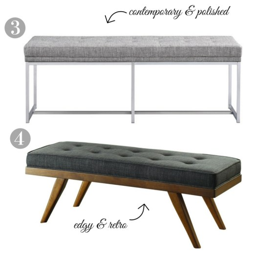 Upholstered Benches Under $200