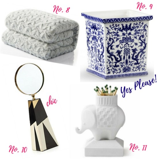 Holiday Gift Guide-- For Decor Lovers by ConfettiStyle