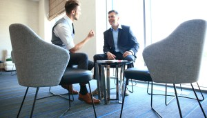 Mentor/Mentee conversing