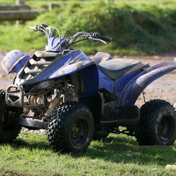 Quad bike hell increases confidence