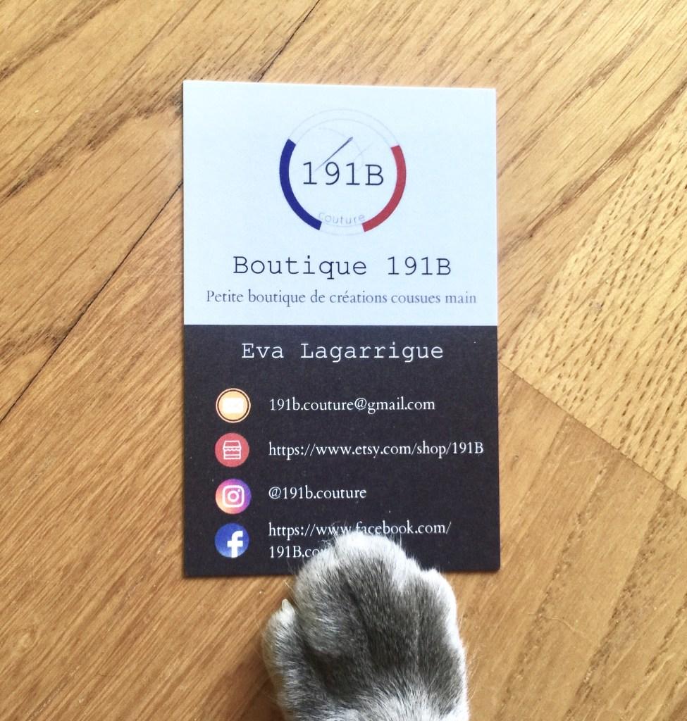 interview de 191 B la boutique d'accessoires made in france pour animaux et humains