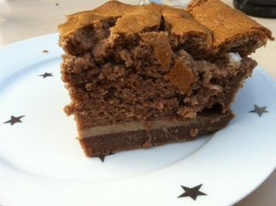 Recette du gâteau magique au chocolat