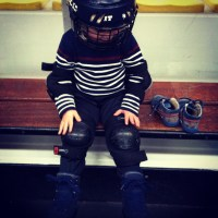 Crapouille a essayé le hockey