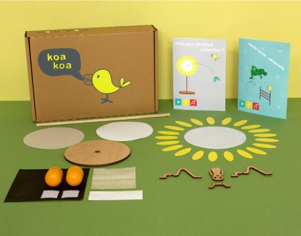 Box sue thème du monde des insectes