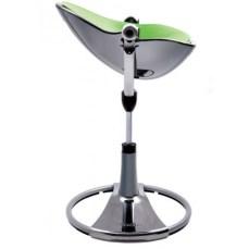 chaise-haute-chassis-fresco-giro-noir-vert-bloom