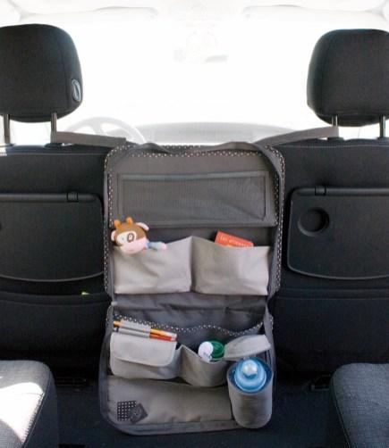 organiseur - adapté - entre - 2 sièges - voitures