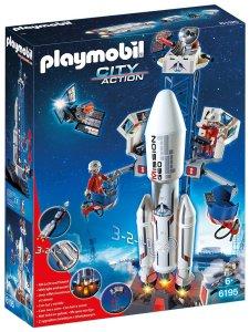 Base de lancement avec fusée Playmobil 6195