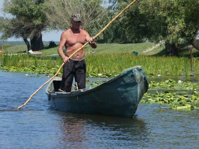 Voyager dans le delta du danube