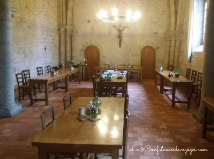 une retraite dans un monastère