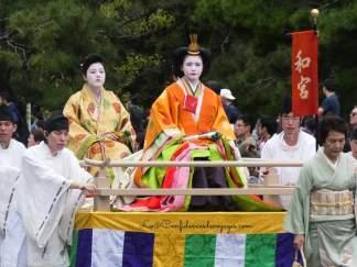 Jidai Matsuri automnal