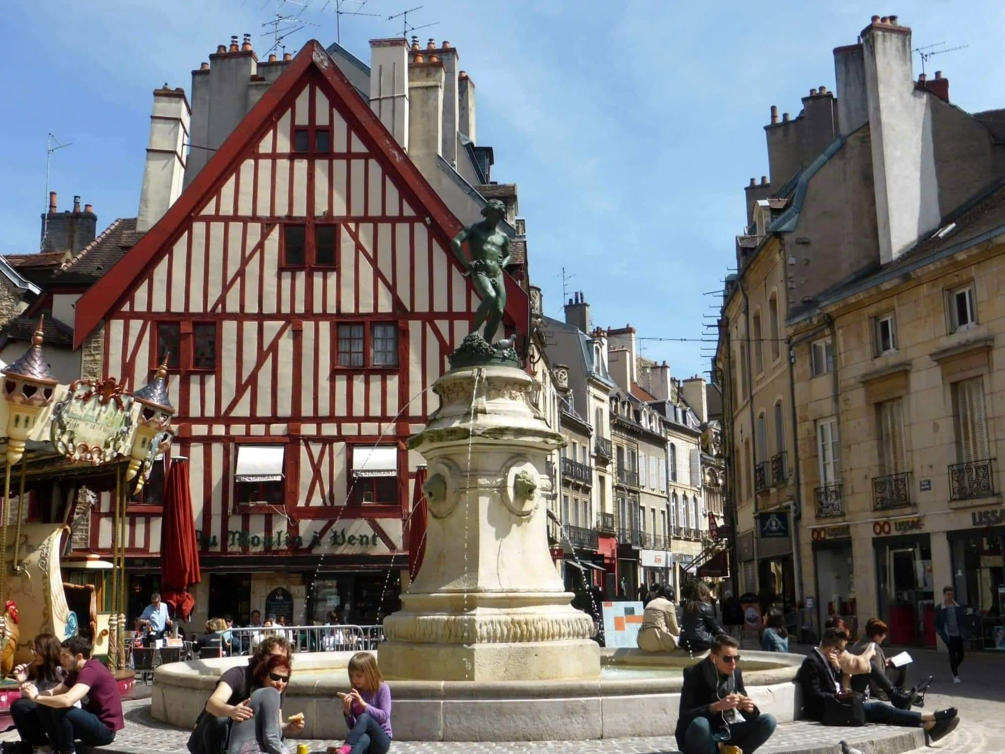 Dijon place François rude