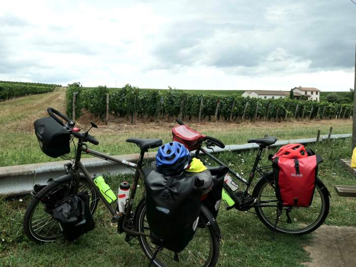 Tour de bourgogne à vélo