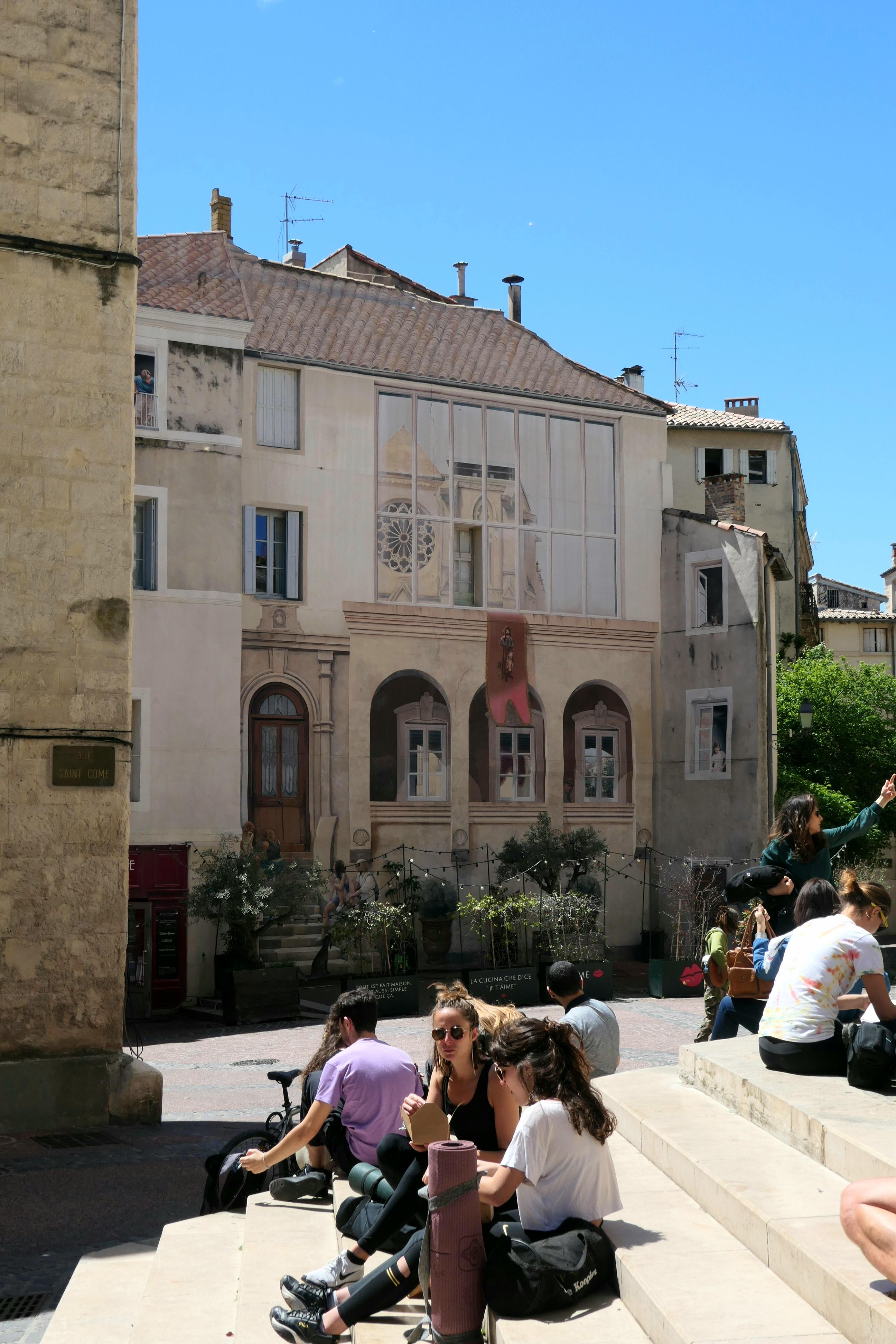Places de Montpellier