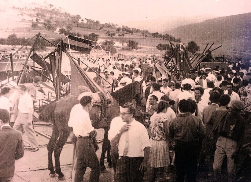 Panorámica, tras el siniestro. 17 de agosto 1961