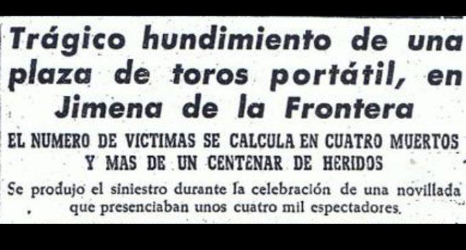Crónica histórica: Desgracia taurina en Jimena
