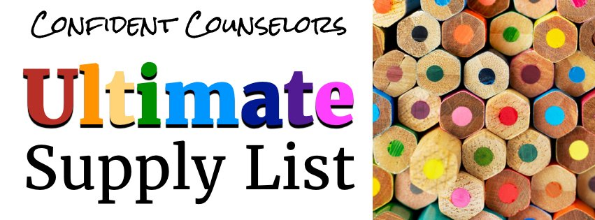 Ultimate Back to School Supply List for School Counselors