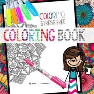 ColorMe Stress Free Coloring Book
