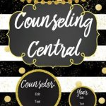 Counseling Central Binder Set Counselor Corner