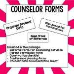 Counselor Forms