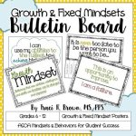Growth and Fixed Mindset Bulletin Board
