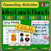 Intro Lunch Bunch Activity