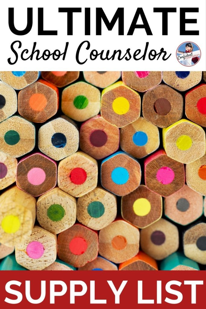 school counseling supplies, including craft materials, school counseling books, toys and games for school counseling. The ultimate school counseling supply list from Confident Counselors.