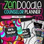 Zen Doodle Counselor Planner