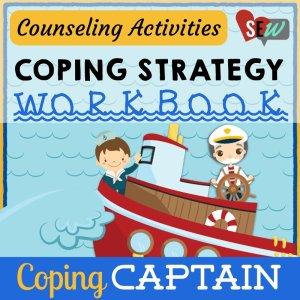 Coping Captain Strategy Workbook: Help Kids Practice Coping Skills