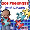 Got Feelings? Set of 12 Puzzles