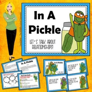 In a Pickle - Let's Talk About Relationships Social Skills Cards