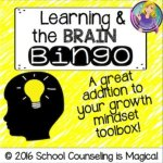 Learning & the Brain Bingo