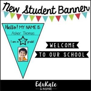 New Student Banner (Freebie!)