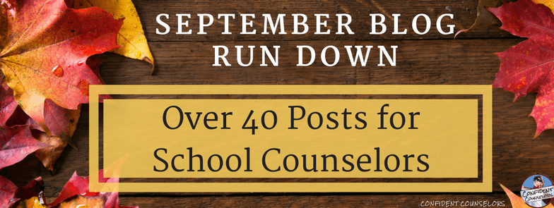 September Blog Run Down
