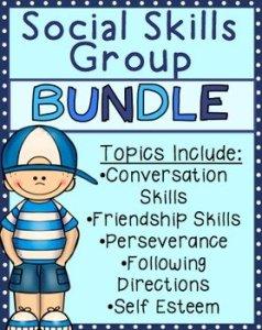 Social Skills Small Group Growing Bundle