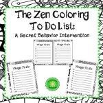 Zen Coloring To Do List