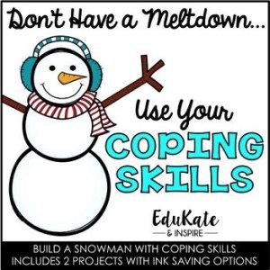 Coping Skills Snowman