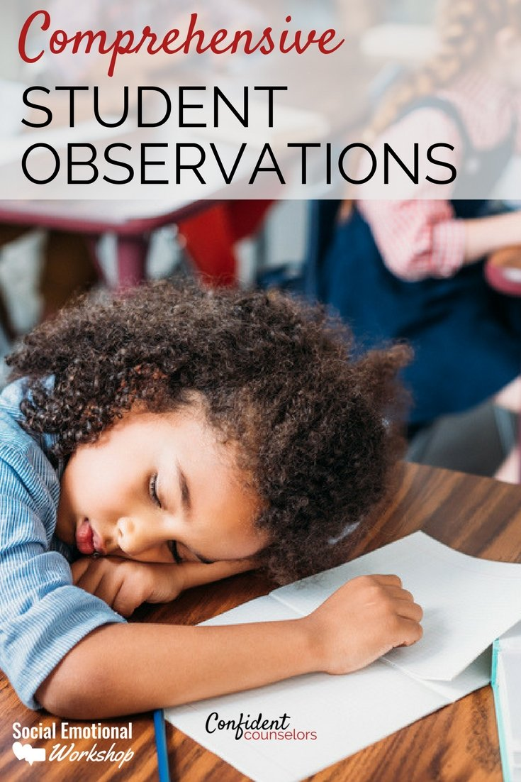 Using student observations to create counseling interventions and behavior plans