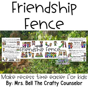 Friendship Fence - 6 tips for making recess inclusive.