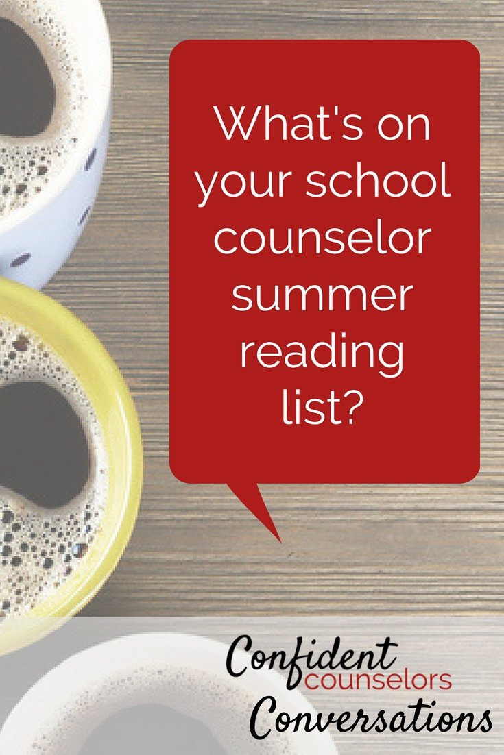 school counselor summer reading list. What are you reading this summer as a school counselor? Books we don't have time to read during the school year are perfect for by the book. Check out Lost in School, Hatchings Results, Unselfie, Ally is a Verb, and Braving the Wilderness.