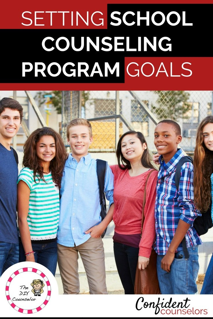 Setting school counseling program goals involves collecting data from needs assessments, school climate data, and school profile data. These data points help you set goals for your school counseling program that are responsive to students needs.